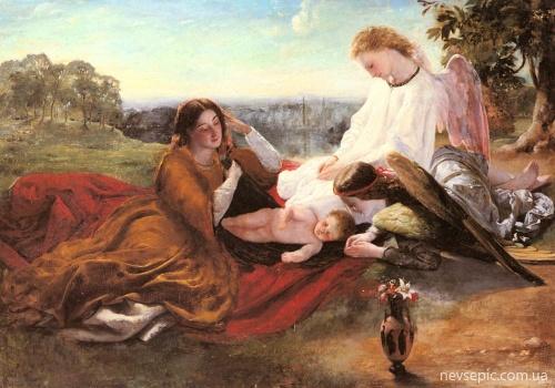 Шотландский художник James Archer (1823 – 1904) (53 работ)