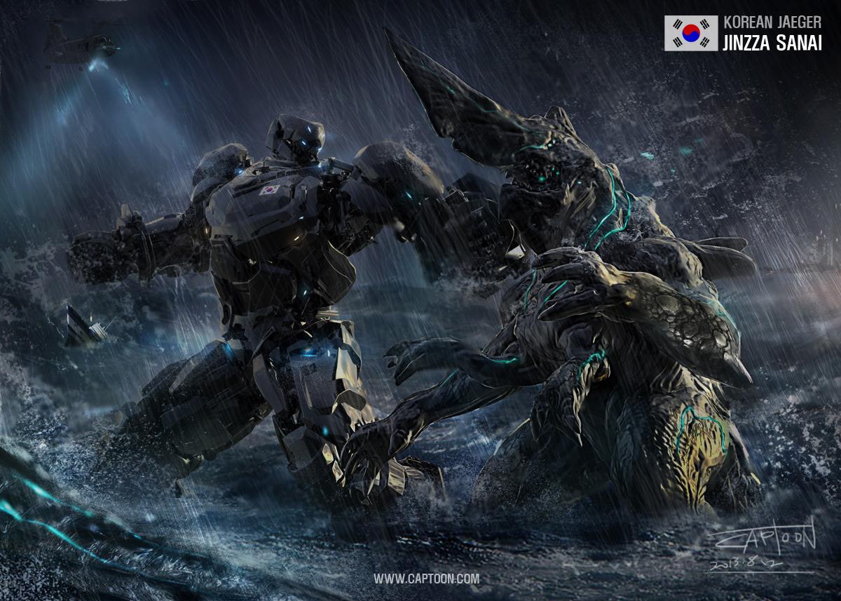 Pix For > Jaeger Vs Kaiju Wallpaper