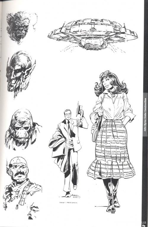 John Byrne. Sketchbook (92 фото)