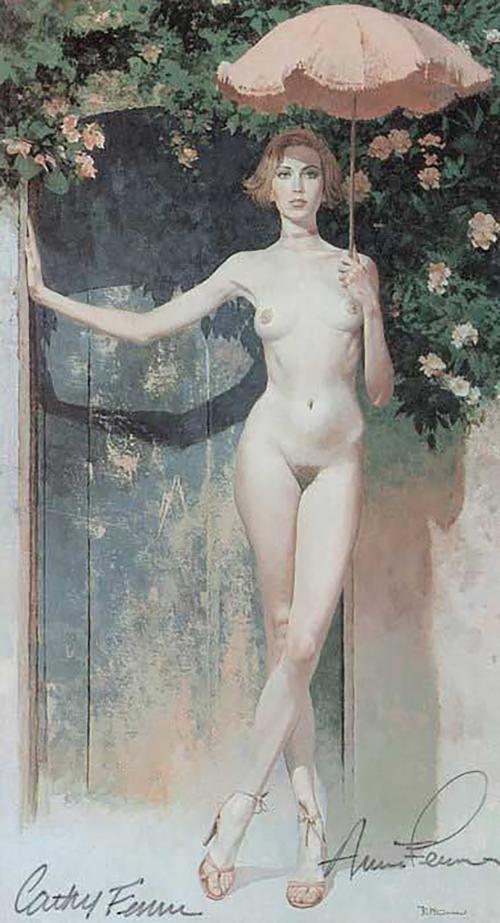 Графический рисунок - Robert Edward McGinnis (30 работ) (эротика)