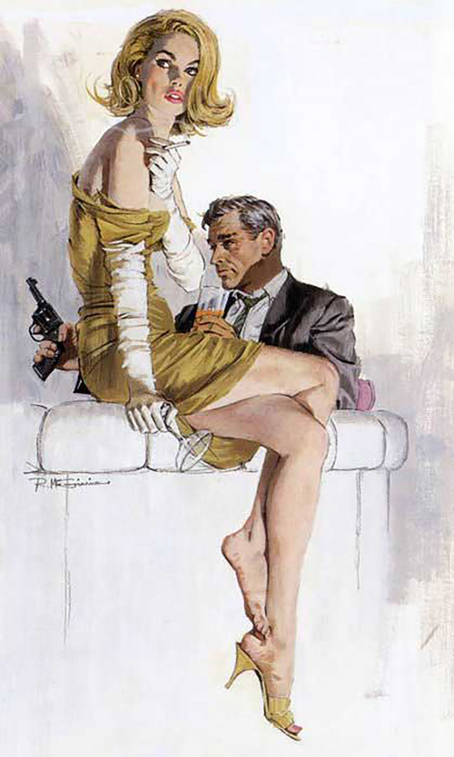 Графический рисунок - Robert Edward McGinnis (30 фото)