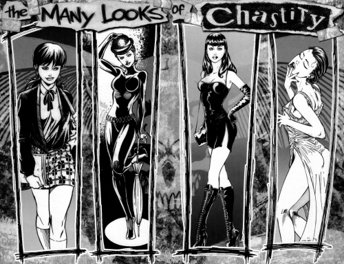 Chastity Sketchbook (18 фото)