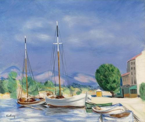 Artworks by Moise Kisling (1891-1953) (148 работ)