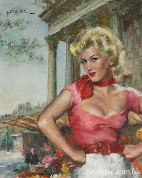 Pal FRIED (1893-1976) (166 работ) (эротика)