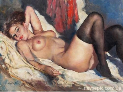 Секс и эротика западных художниках фото 159-382