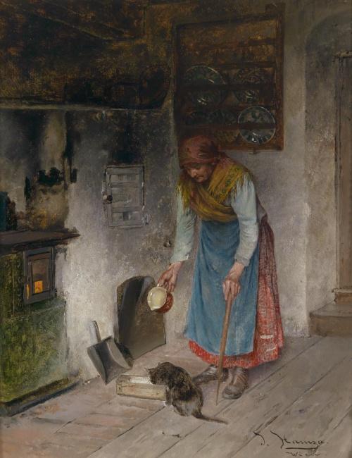 Художник Johann Hamza (Austrian, 1850-1927) (43 работ)