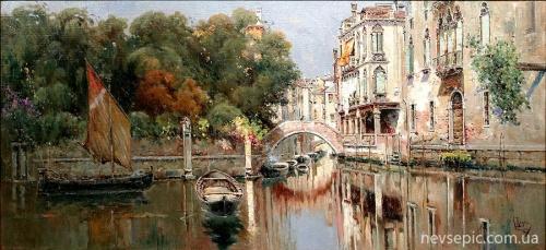 Испанский художник Antonio Maria de Reyna Manescau (1859-1937) (28 работ)